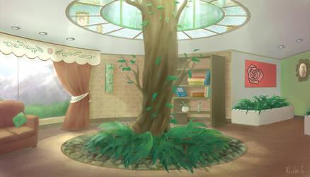 Tree house by Dallamokompas