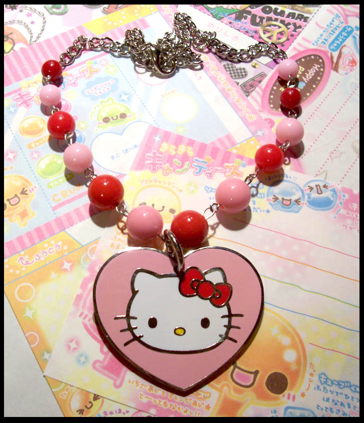 Hello Kitty Necklace by BloodCross