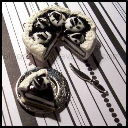 Art I Cake Halloween Charms : Oreo Cake Charms by BloodCross on DeviantArt