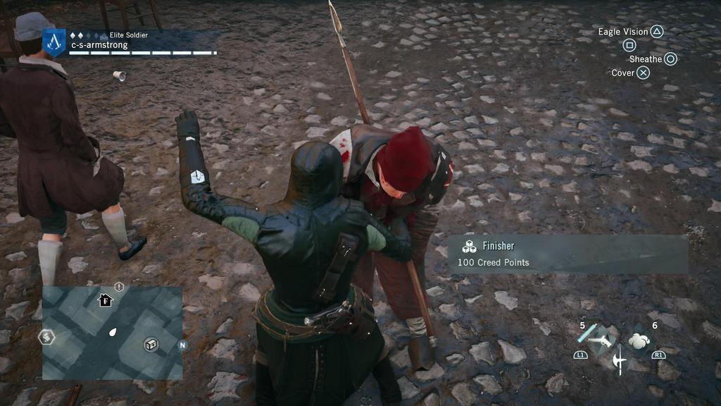 Assassin's Creed Unity Bo Fighting by Buzyma