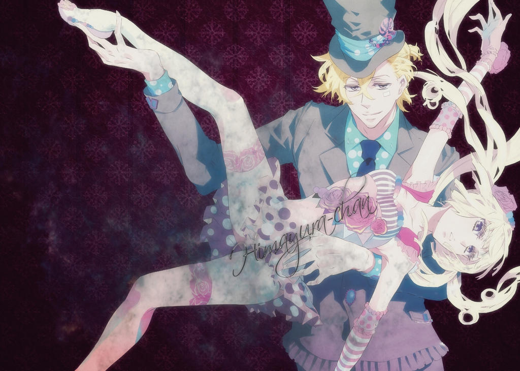 Anime dark couple by himayura chan on deviantart - Dark anime couples ...