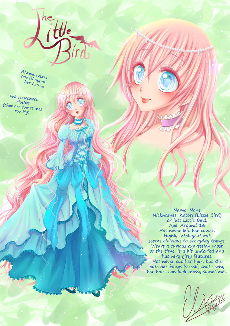 ~Little Bird ~ Character design by hyacinthess