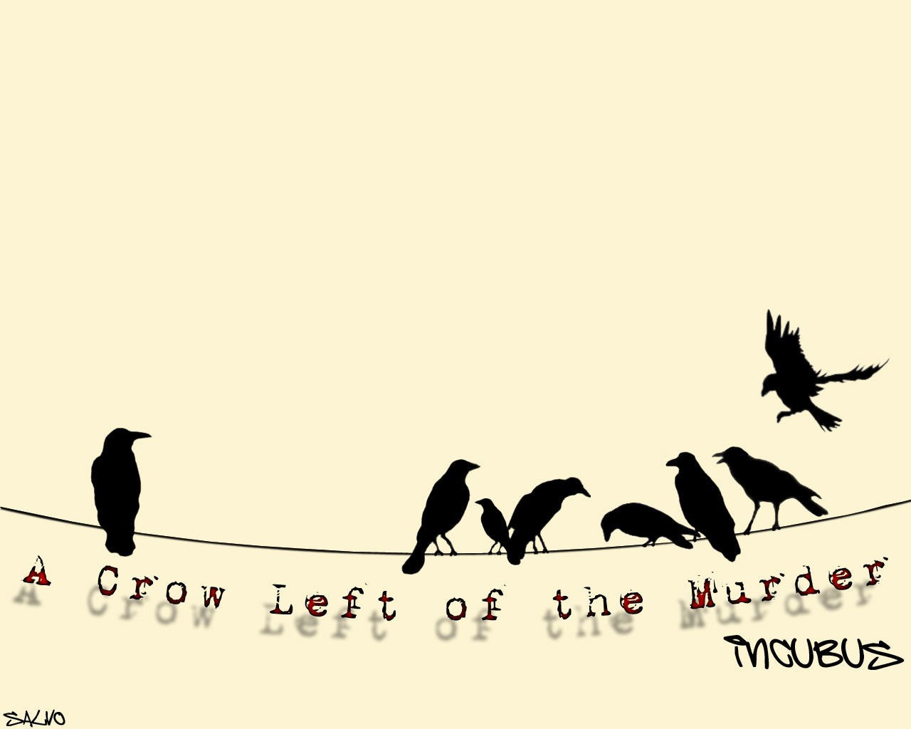 A Crow Left Of The Murder by Salvoroni on DeviantArt A Crow Left Of The Murder