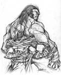 Shredder and Sabretooth
