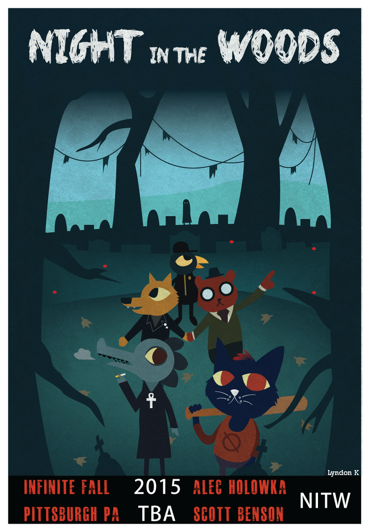 Night in the Woods [FANART] by shinjiku