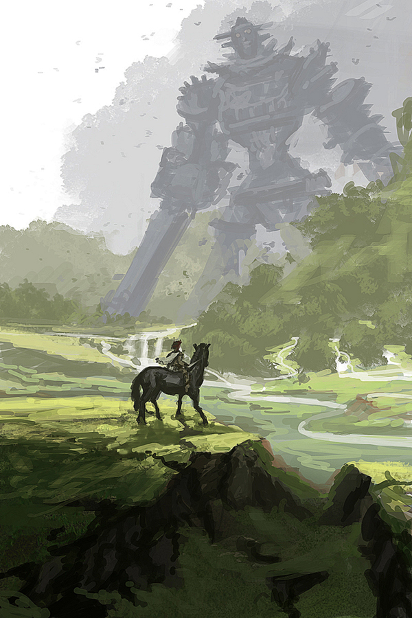 Shadow of the Colossus by GoKammy