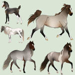 Adoptable Horses |OTA|OPEN| by Just-Adoptions