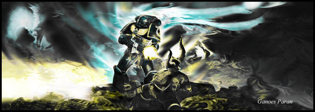 Warhammer Space Marine - Dark by Ganoes-Paran