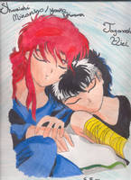 Sleepy Time-Hiei and Kurama