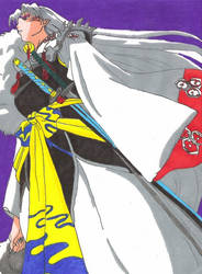 Lord Sesshomaru for Yukohiei18 by aikou-yami