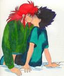 Hiei and Kurama -yaoi-