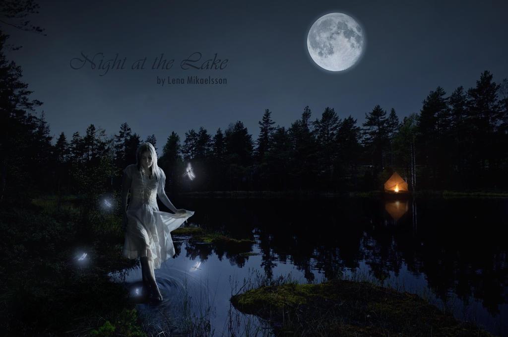 Night at the Lake by eleko7