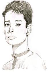 Audrey Hepburn by MissTamapaa