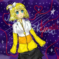 Juvenile Kagamine Rin! by JazzyFizzle2000