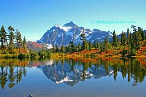 Mount Shuskan by clanegessel