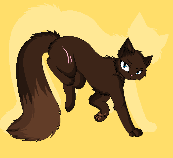 Brindlechime, My Warrior Cat OC By Kenbuscus On DeviantArt