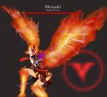 Berserk (Genshin Impact OC Akisuki art)