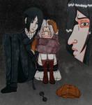 Yoite, Haruki and Snape by Yoitefriend