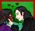 Lokane Flirt by Yoitefriend