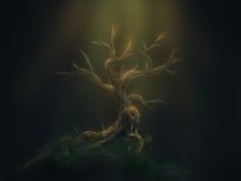 Lonely Tree (iPad doodle)