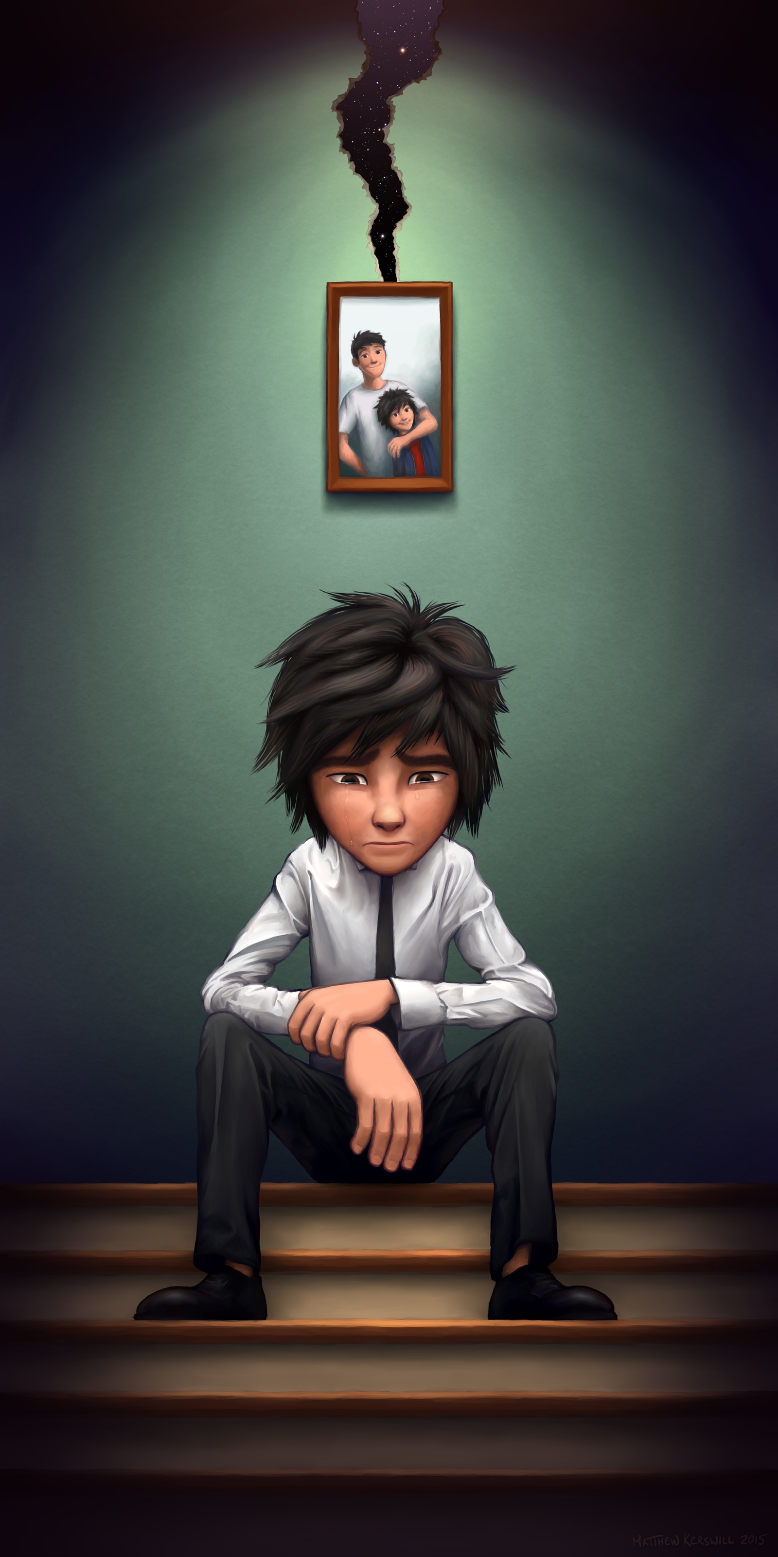 TEARS :: Big Hero 6 - Hiro Hamada by WildCat-ZA