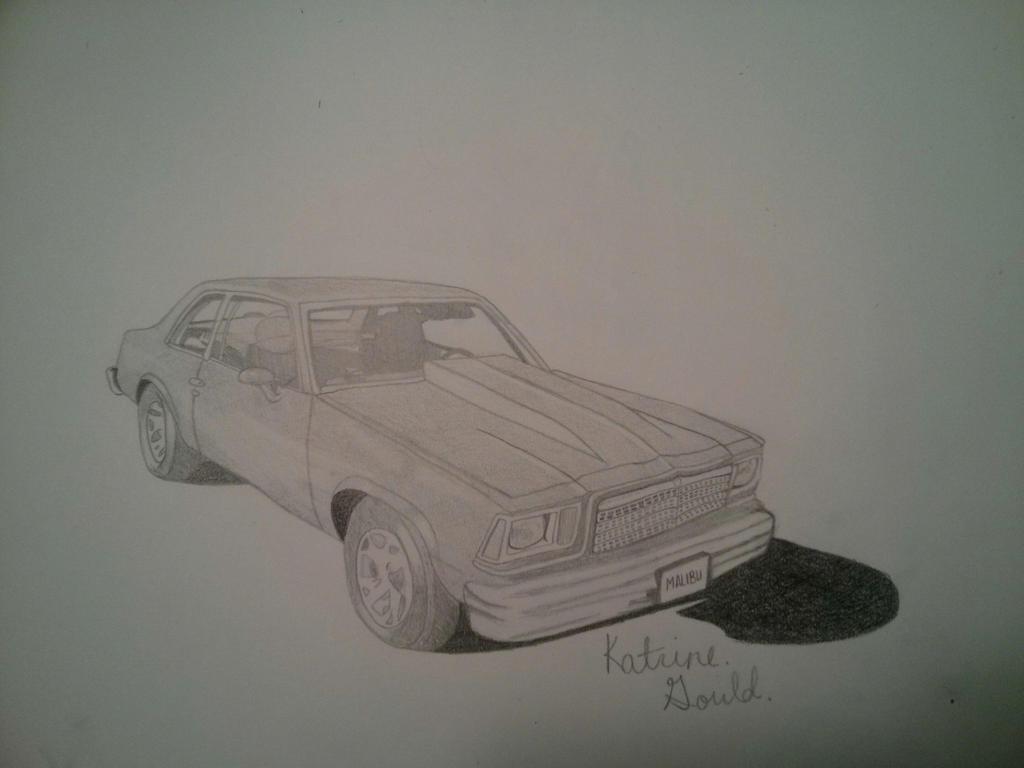 1979 Chevy Malibu by katrine3333