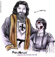 Horrible Histories - MUD AND MATILDA by Dianah3