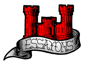 army corps of engineers essayons The us army corps of engineers is also the castle has remained as the distinctive symbol of the corps of engineers essayonsis a the essayons(combat.