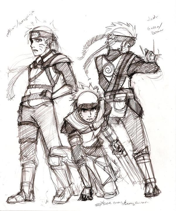 Ninja Nations: Naruto Concept by huntinghalfbreed