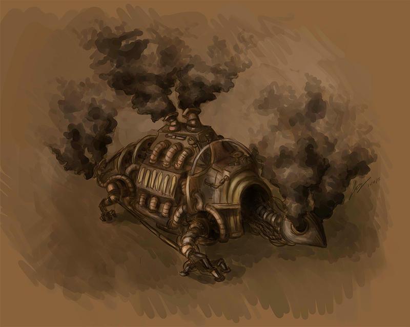 Tortoise locomotive by Aiecan