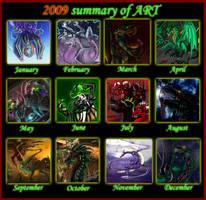 Meme Summary art by Black-Red-Green
