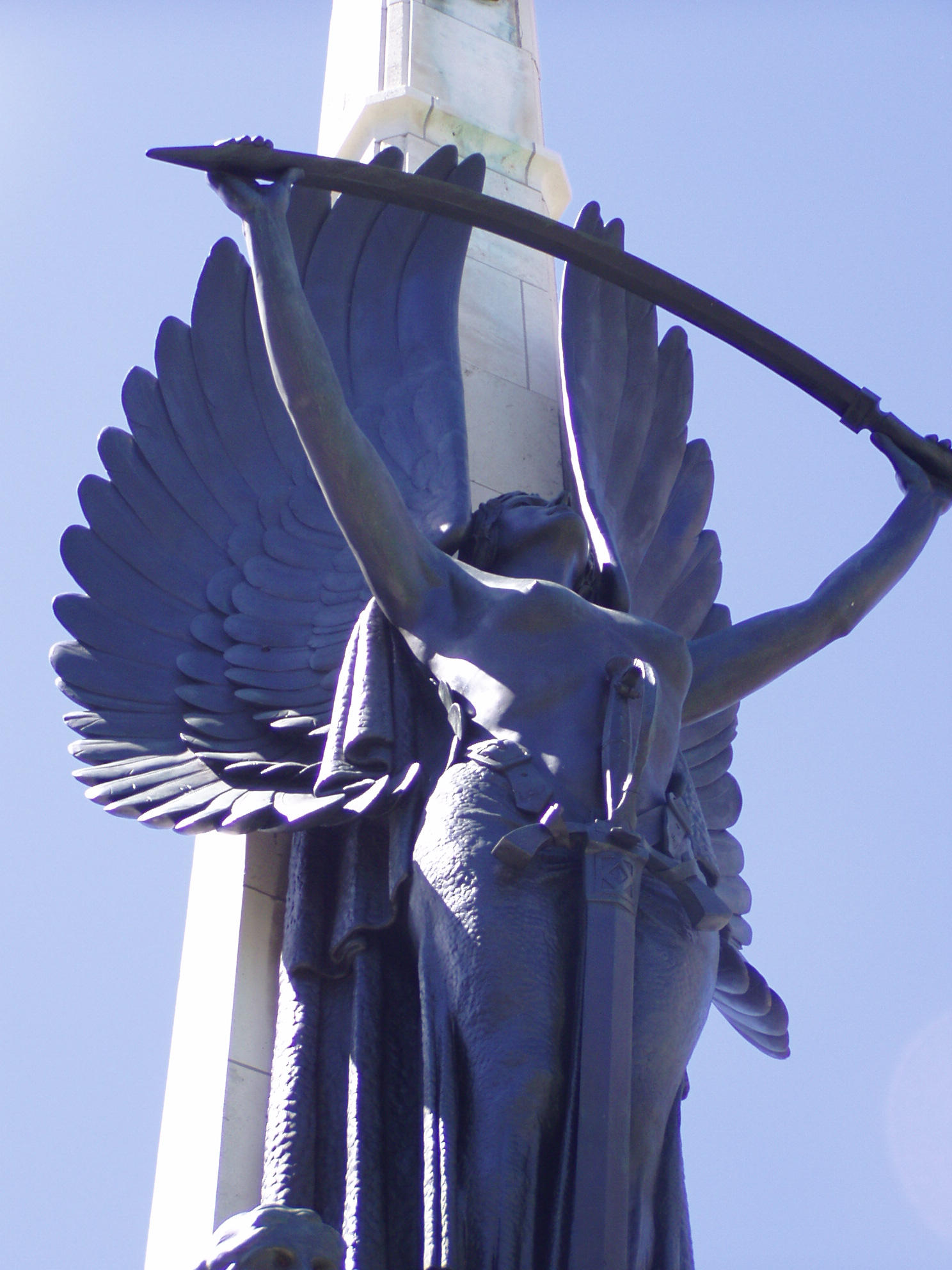 .stock: angel statue. by guavon-stock
