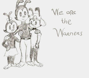 The Warners (sketch) by Cartooncat120