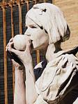 Snow White-Living Statue