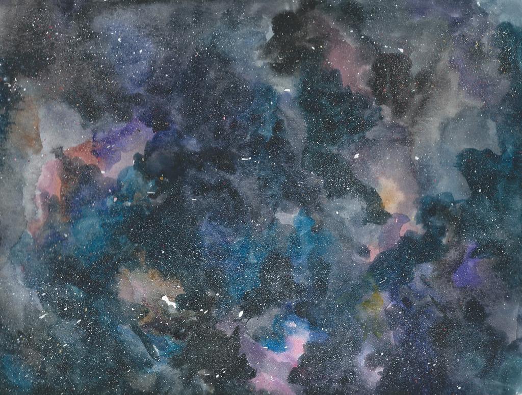 Image Gallery Watercolor Galaxy