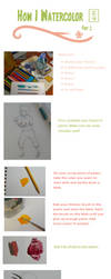 How I Watercolor: P1 by EllieBracha