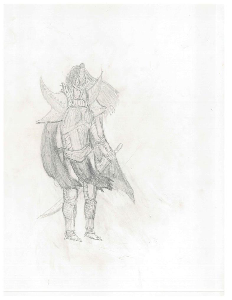 Dark elf lord (v2) by mathei1000