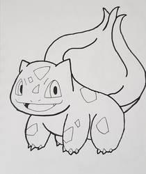 Pokemon: Bulbasaur by TheWhovimonGeek