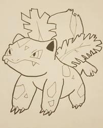 Pokemon: Ivysaur by TheWhovimonGeek