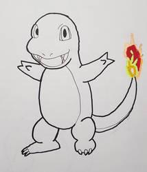 Pokemon: Charmander by TheWhovimonGeek