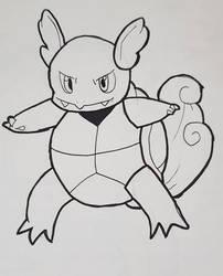 Pokemon: Wartortle by TheWhovimonGeek