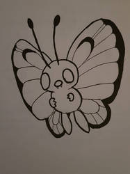 Pokemon: Butterfree by TheWhovimonGeek