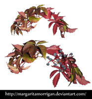 autumn wreath by Margaritamorrigan by margarita-morrigan