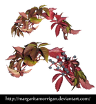 autumn wreath by Margaritamorrigan