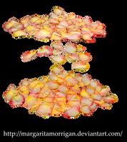 rose petals by margarita-morrigan