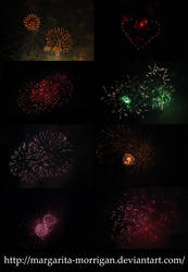 texture fireworks by margarita-morrigan