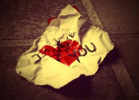 Becasue I hate you... by Hopeful-Rogue