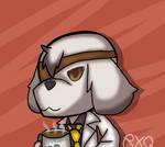 Science Doggo (Elsword Fanart) by RWQFSFASXCtherabbit