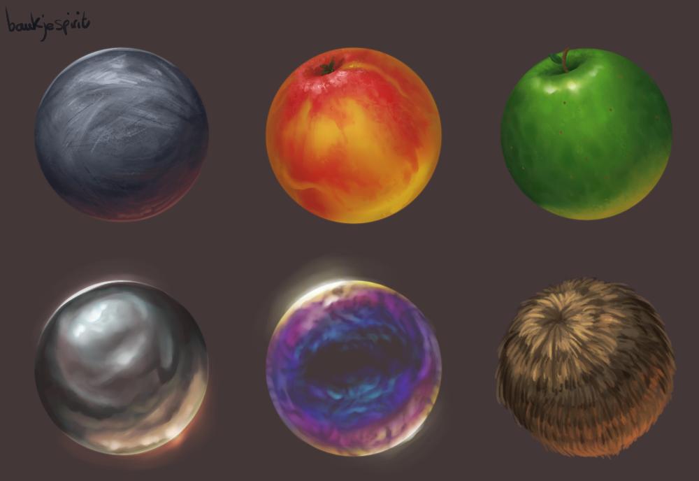 Material studies 2 by BaukjeSpirit