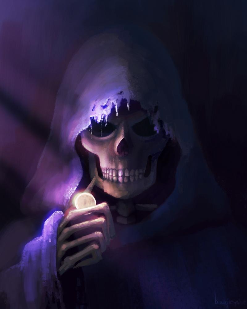 Game with Death by BaukjeSpirit
